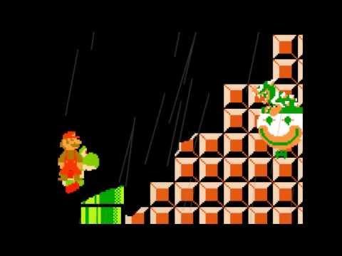 World 1-4 Mario VS Bowser - WMP Cut Edition