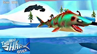 Double Head Shark Attack ( First Look ) - Zombie Shark Unlocked Android GamePlay FHD