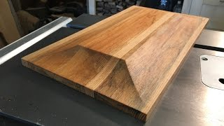 Making raised panel on the table saw (another)!