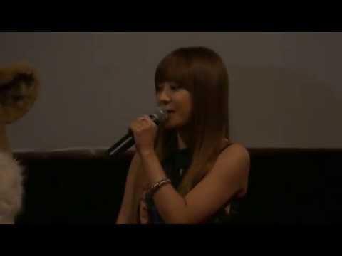 [121229] Narsha stage greeting at Guro CGV(Niko 2 - Little Brother, Big Trouble)