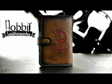 Jak Zrobić Portfel   Hobbit Leatherworks  How To Make A Wallet