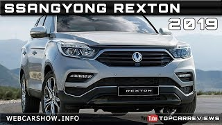 2019 SSANGYONG REXTON Review Rendered Price Specs Release Date