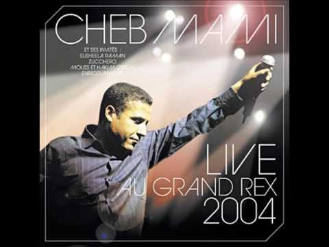 Cheb Mami - Mazal Sevenir Andi  (live Au Grand Rex 2004) video