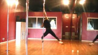 Shelly Pole dancing to ciara speechless