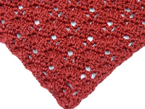 Crochet: Punto en V # 20
