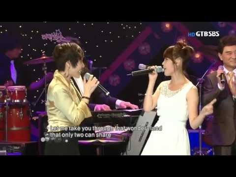 주현미 & 아이유 - Let me be there @ SBS Story Show