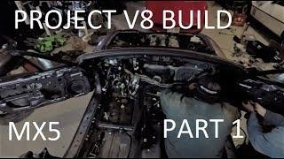 Project V8 Build - Part 1 - Angevaare Motorsports