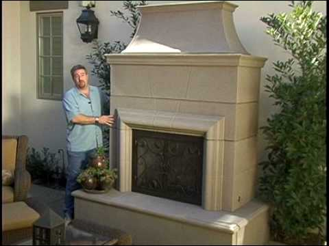 Outdoor Fireplace Design Youtube