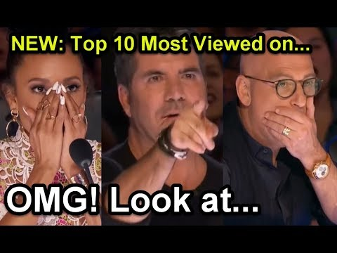 #1 NEW: Top 10 Most Viewed America's Got Talent Auditions!
