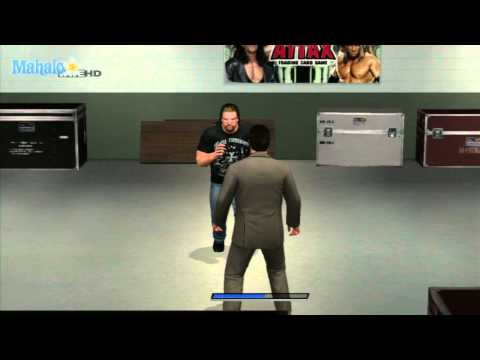 Smackdown Vs Raw 2011 - Road To Wrestlemania - Chris Jericho Vs Triple H Backstage