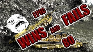 World of Tanks - EPIC WINS AND FAILS [Episode 80]