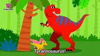 The Best Hunter, Tyrannosaurus | Dinosaur Songs | Pinkfong Songs for Children