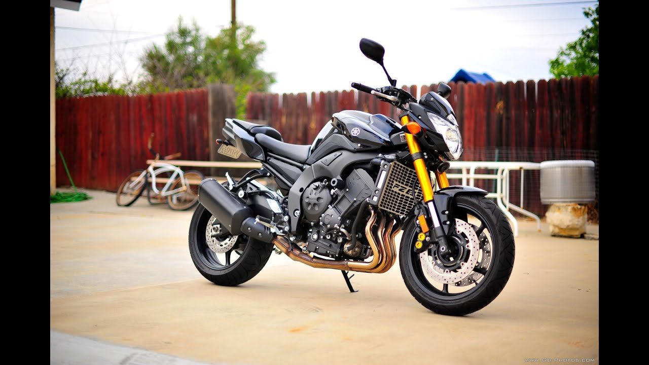 Yamaha Fz8 Exhaust 2011 Yamaha FZ8 exhaust sounds