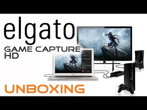 Elgato - Game Capture HD Unboxing Review vs HDPVR