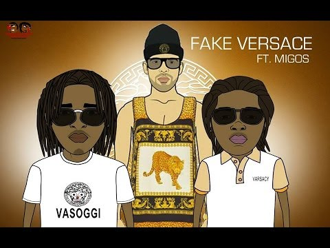 Migos Ft. Drake - Fake Versace [Cartoon Parody]