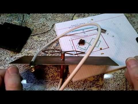 WIFI antenna BiQuard Двойной квадрат. Сделай сам.