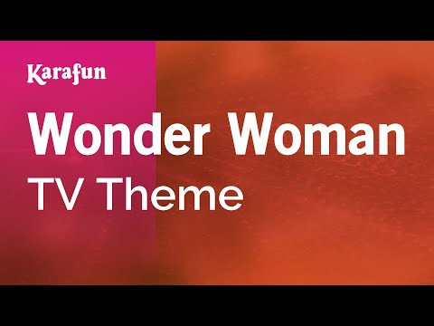 Karaoke Wonder Woman - Tv Theme * video