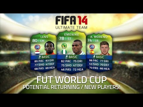 FIFA ULTIMATE TEAM WORLD CUP!   POTENTIAL NEW / RETURNING PLAYERS!