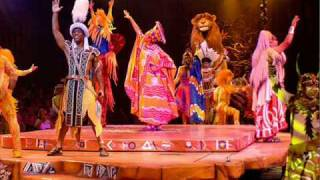 Festival Of The Lion King - The Lion Sleeps Tonight