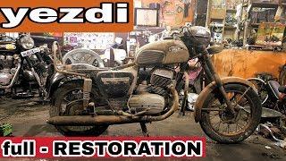 Old yezdi | restoration | ओल्ड मॉडल yezdi रिस्टोरेशन