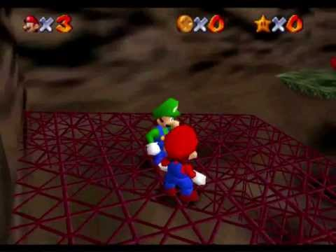 Gameplay Super Mario 64 Multiplayer 1.2