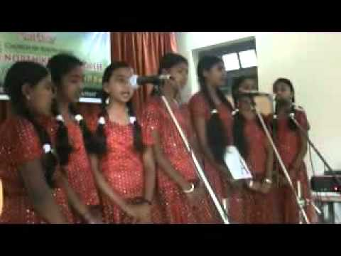 Csi Sing Song Competition On Girl Child 1st Prize.wmv video
