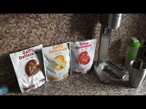 Невероятно вкусные протеиновые коктейли с коллагеном Дейли Делишес Бьюти Шейк.