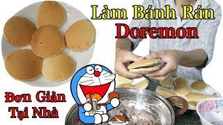 Lâm Vlog - Làm Bánh Rán Doremon Đơn Giản Tại Nhà | Bánh Dorayaki
