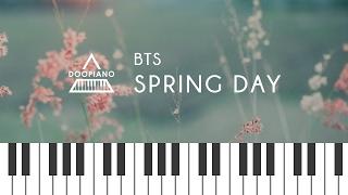 방탄소년단 BTS - 봄날 Spring Day Piano Cover