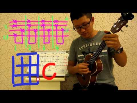 13【烏克麗麗ukulele】基礎教學9 指法練習(1)如何用烏克彈出鋼