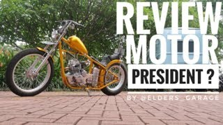 Motor Pak #Jokowi ? CHOPPER YAMAHA SCORPIO (REVIEW) by ELDERS GARAGE