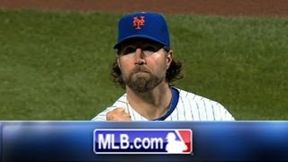 Check out the best moments from R.A. Dickey's 2012 Cy Young Award Season