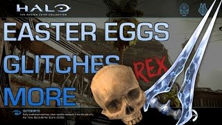 Halo 2 Anniversary - Outskirts Easter Eggs, Glitches, Tricks, and More