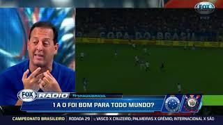 """""""O FABIO NEM VIU A BOLA, 1X0 FOI POUCO''  CRUZEIRO 1X0 CORINTHIANS"""