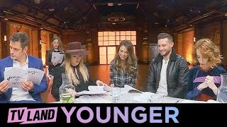 Season 5 Table Reading w/ Cast | Younger | 360 Video