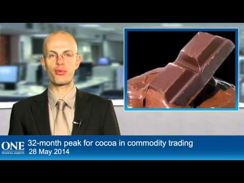 32-month peak for cocoa in commodity trading
