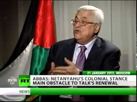 Palestine: Abbas to RT We want to co-exist with Israel -- independently.