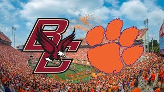 Boston College vs. #2 Clemson | 2017 Game Highlights