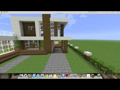 Como hacer una Linda Casa Moderna en Minecraft 1.6.4 (PT1)