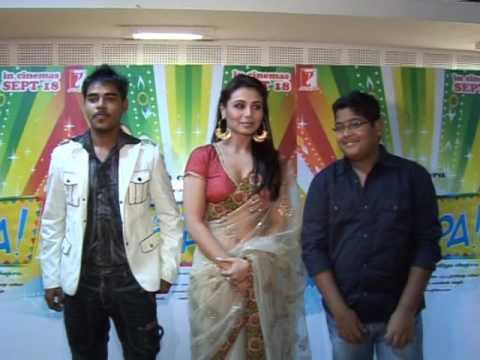 Rani Mukherjee Meets Contest Winners - Dil Bole Hadippa