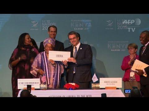 Liberia joins World Trade Organization