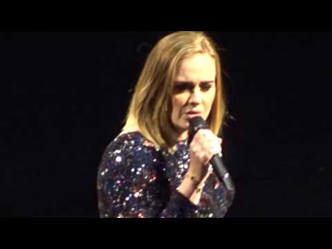 Adele - Hello - Live From Boston on 09-14-2016 #1