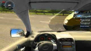 City Car Driving (3D Instructor 2.2) GTX 580 - Drunk Driver