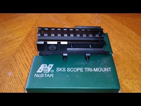 How to Mount NcStar SKS Scope Tri-Mount