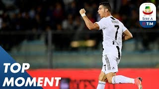 Ronaldo Super Strike!! His 2nd Goal to Win for Juve! | Empoli 1-2 Juventus | Serie A