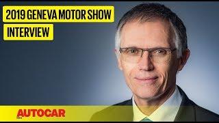 EXCLUSIVE I Carlos Tavares - CEO & Chairman Groupe PSA I Geneva Motor Show 2019 I Autocar India