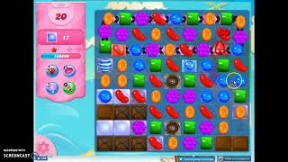 Candy Crush Level 1295 Audio Talkthrough, 2 Stars 0 Boosters