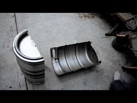 Two Guys, One Keg - The Keg-A-Que how to... (BBQ)