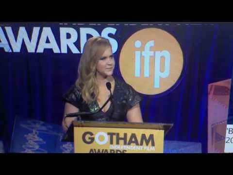 Amy Schumer's Speech on Tilda Swinton at the Gotham Awards
