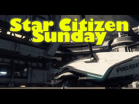 Star Citizen Sunday - Landing on Planets, Ships Break into Chunks & Ships Nearing Completion + More